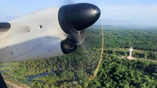 Nok Air Q400 Takeoff Chumphon = Thailand 20 Years Ago. Wave!