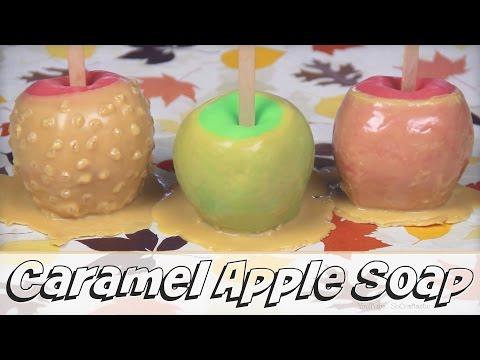 DIY Caramel Apple Soap - Melt & Pour Soap Making How To