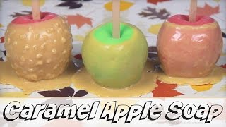 DIY Caramel Apple Soap - Melt & Pour Soap Making How To