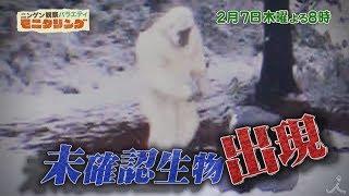 2月7日(木) よる8時『ニンゲン観察バラエティ モニタリング 』 ☆もしも...
