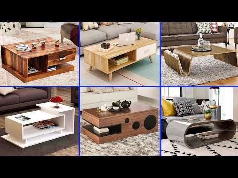Living room center table design ideas | Modern coffee table designs | Unique tea table designs