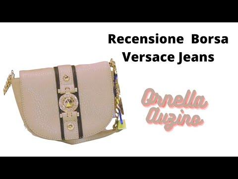 Versace Jeans e le sue borse - la recensione a cura di Ornella Auzino