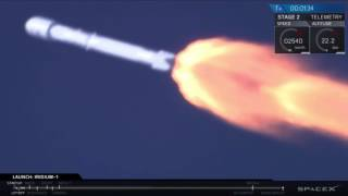 SpaceX Is Back! Falcon 9 Rocket Launches 10 Satellites | Video