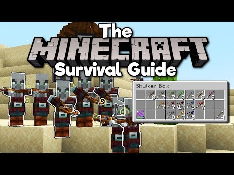 potion-tipped-&-spectral-arrows!-▫-the-minecraft-survival-guide-(tutorial-lets-play)-[part-195]