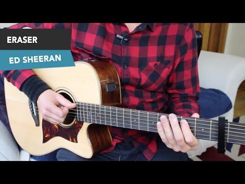 Ed Sheeran - ERASER Guitar Lesson Tutorial - Ed Sheeran Eraser Chords