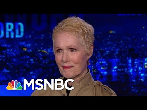 Exclusive With New President Donald Trump Assault Accuser   The Last Word   MSNBC