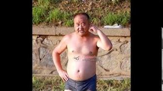 Chinese swim trunks mature daddies