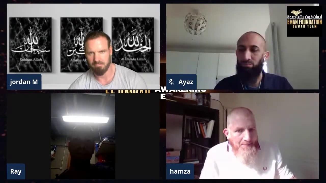 مسلم سابق يراجع نفسه بعد حوار مع حمزة وعباس في نهاية رائعة