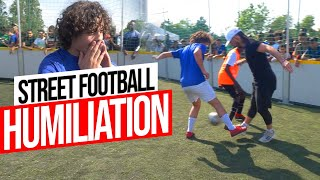 Crazy Street Football Humiliation 3 vs 3 in France.