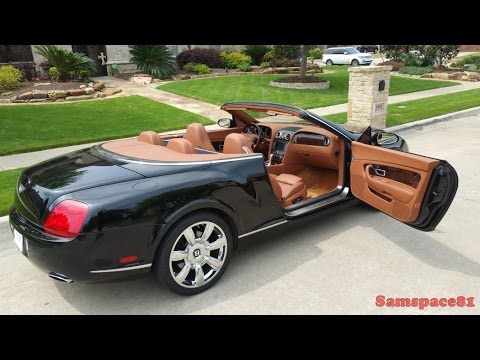 A Texans 2008 Bentley Continental Gtc Youtube