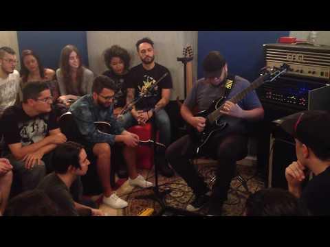 Michel Oliveira - Djent Guitar Clinic - São Paulo, Brazil 24/sept/2017