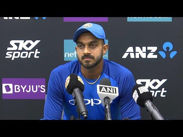 Learnt a lot just by watching teammates on Australia, NZ tours - Vijay Shankar