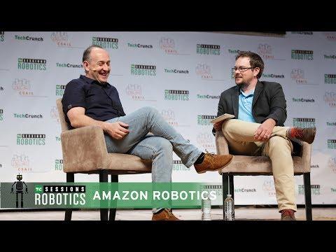 Robots at Amazon with Tye Brady (Amazon Robotics)