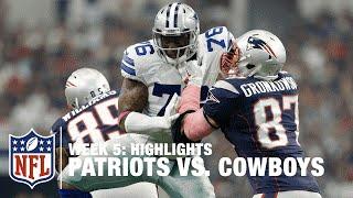 Patriots vs. Cowboys | Week 5 Highlights | NFL