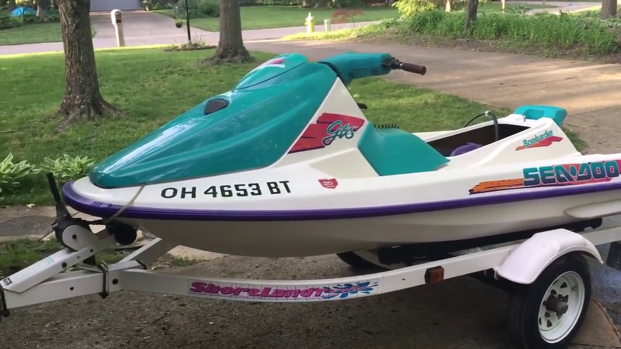 1995 GTS Sea Doo Stalls (read Description)