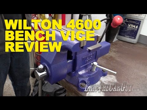 Wilton 4600 Bench Vice Review -EricTheCarGuy