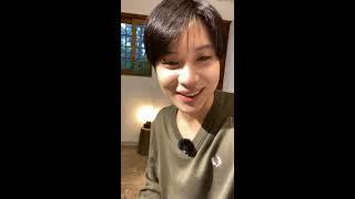 200602 SHINee Taemin Instagram Live 샤이니 태민 인스타라이브
