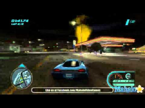 Midnight Club Los Angeles Walkthrough - The Hangout - Race 3