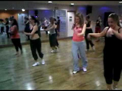 latin dance class - CONGA