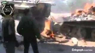 Syrian rebels capture soldiers in Homs