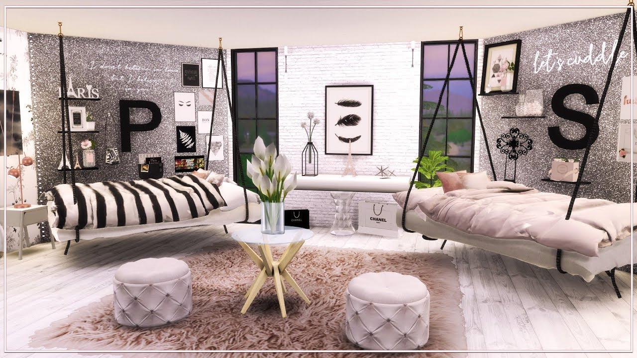 Bestfriend Teen Bedroom Black And White Mini Mansion 4