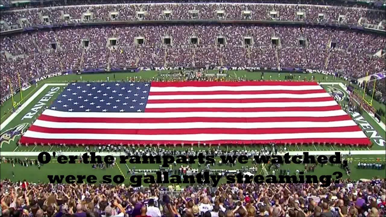 Usa National Anthem The Star Spangled Banner With