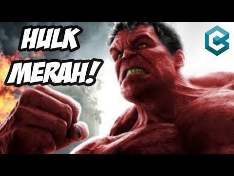 HULK BERWARNA MERAH!! 5 Kisah Tersembunyi Hulk