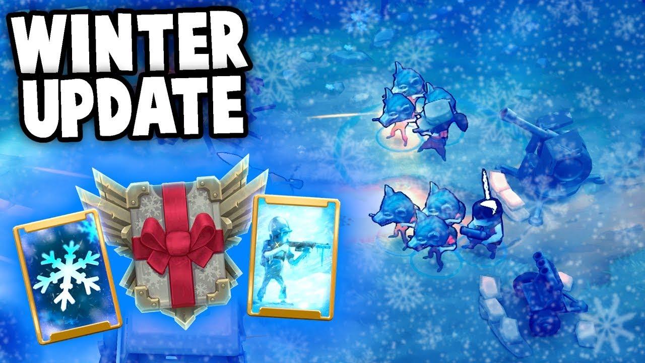 Operation Winter Update!  (Guns Up! Multiplayer Gameplay)