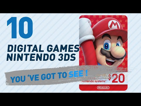 Top 10 Digital Games Nintendo 3Ds Collection // Video Games 2017
