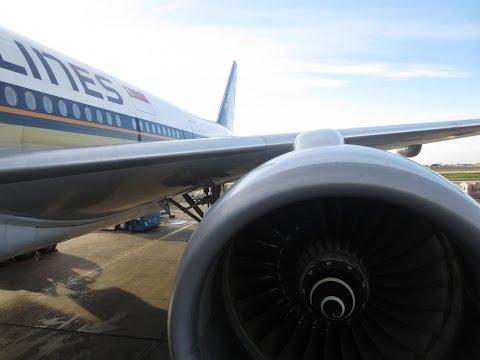 Singapore Airlines Boeing 777 Economy Class, Copenhagen to Singapore