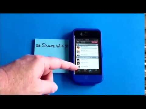 EZshare Wireless Wifi SD Card Adapter