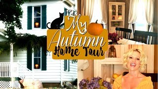 Cozy Fall Home Tour 2018 🍂 Fall Decorating Ideas for Chilly Autumn Nights!