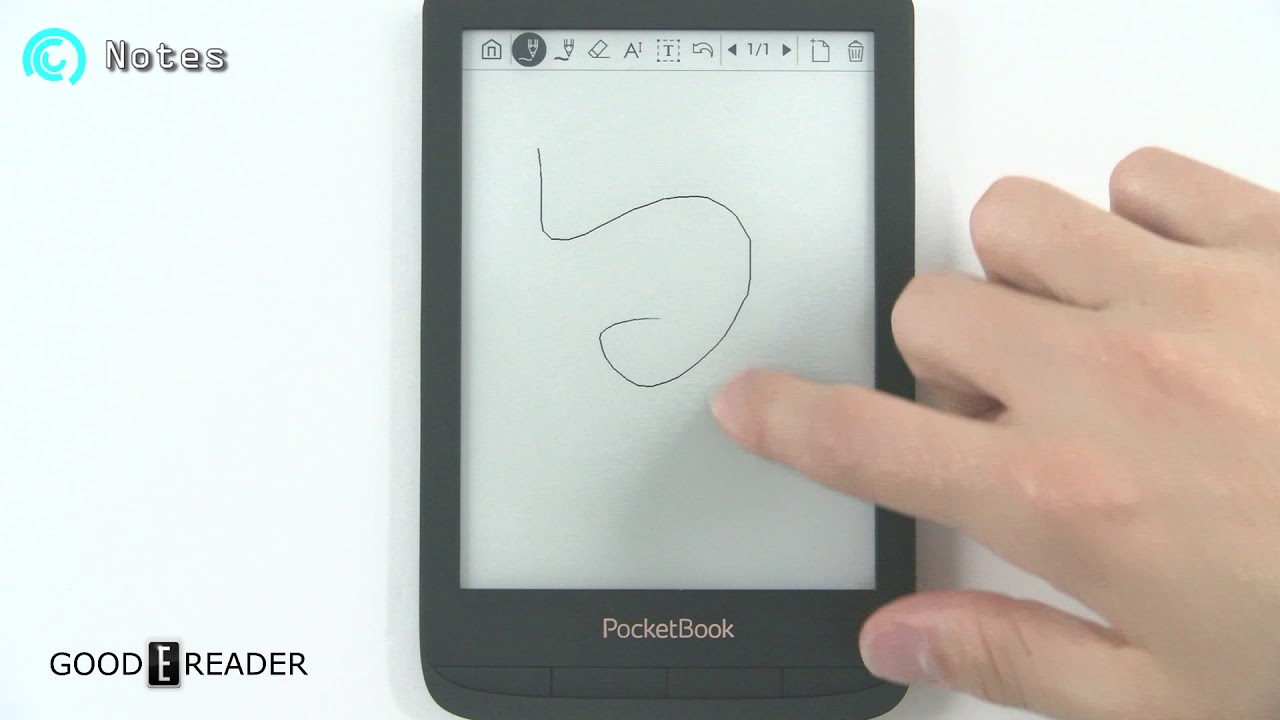 pocketbook touch lux 4 review youtube
