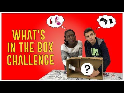 WHAT'S IN THE BOX CHALLENGE ita con Ceci - Cosa ha messo Lisa nella scatola? 1^ parte