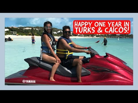 Happy ONE Year!! TURKS & CAICOS, here we come!