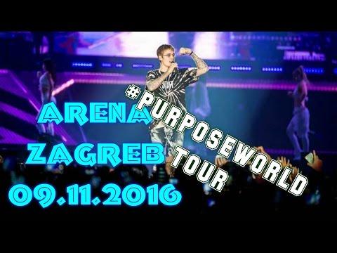 PURPOSE WORLD TOUR / ZAGREB ft. Ariana,Bibi Andy,Davor Gerbus,Ela Jerković itd