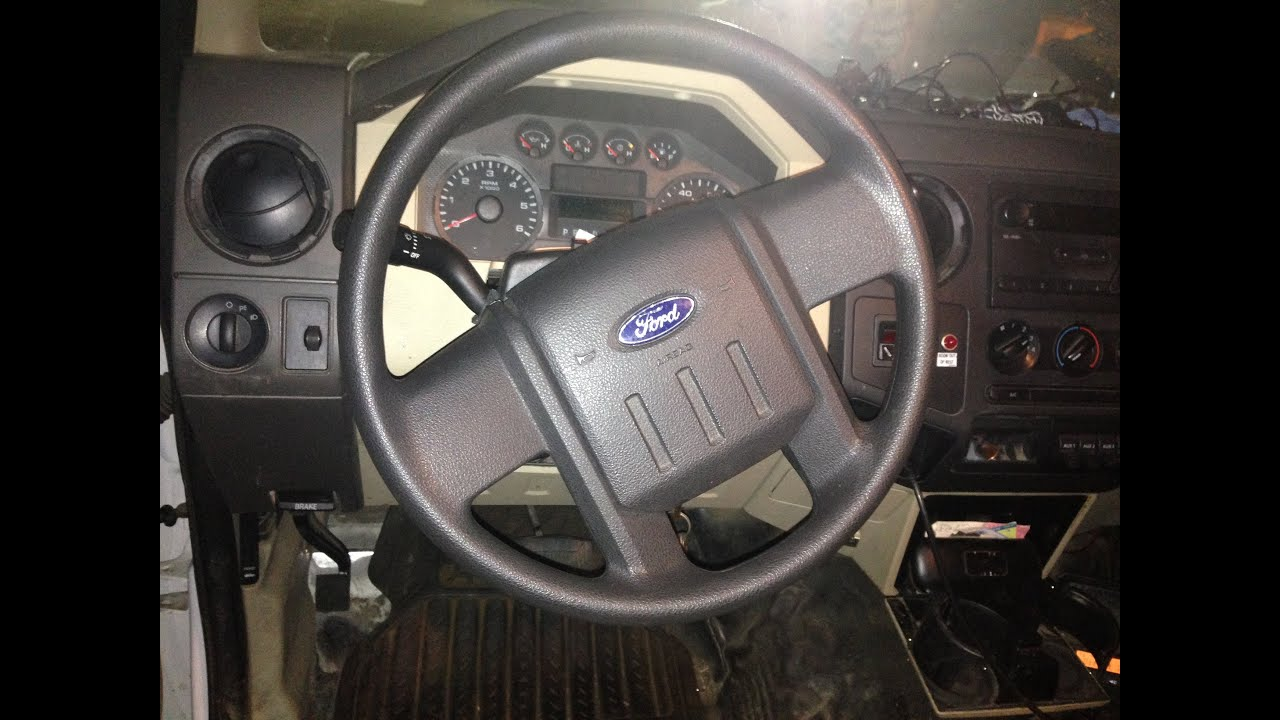 hight resolution of ford f150 450 air bag removal 08