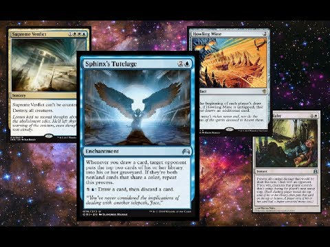 MODERN MADNESS: Blue White Tutelage vs Grixis Control