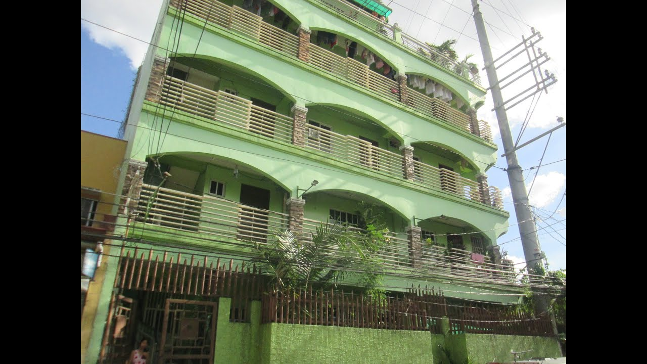 for sale 5 storey building apartment with tenants sampaloc