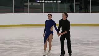 Tessa VIRTUE / Scott MOIR FD Practice ACI 2017