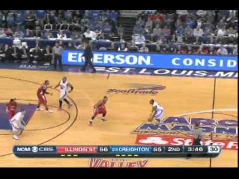 Creighton Bluejays vs Illinois State Redbirds (MVC Championship, 3/4/2012)