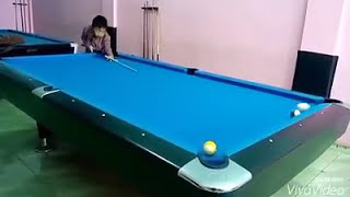 Billiard Trick Shot (Indonesia)