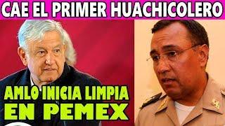 AMLO Investiga al Primer Cómplice de Peña Nieto en el Robo de Combustible
