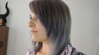 Como decolorar el cabello a Gris❤Silver Hair
