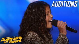 EUROVISION star WOWS judges with ARETHA FRANKLIN vibes | AUDITIONS | Australia's Got Talent 2019