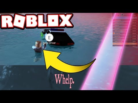 STRUCK BY LIGHTNING WHILE DRIVING!!! (Roblox Jailbreak)