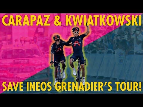 CARAPAZ & KWIATO SALVAGE INEOS TOUR DE FRANCE!
