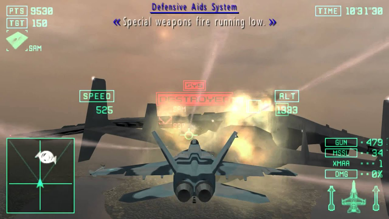 Ace Combat X: Skies of Deception - Mission 7B: Standoff in the Skies II