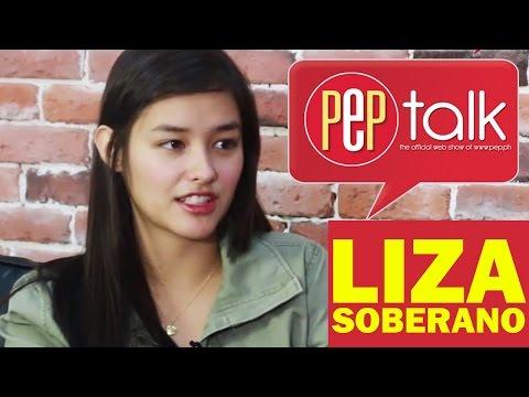 "PEPtalk. Liza Soberano on Gerald: ""Sobrang bait niya...cool lang."" On Enrique: ""Medyo isip-bata"""