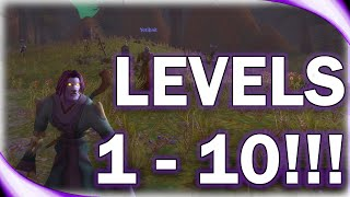 WoW Classic - Undead Mage Level 1-10!